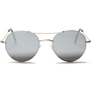 Illesteva Mirrored Hester Sunglasses